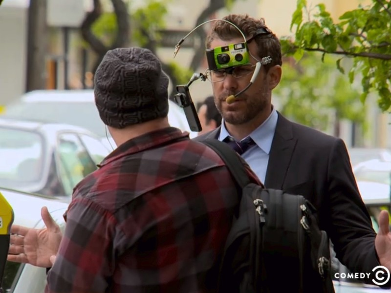 The Daily Show takes on Google Glass: 'Do you hear what you're saying?'