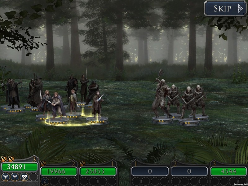 Collect heroes to battle in Lord of the Rings: Legends of Middle-Earth