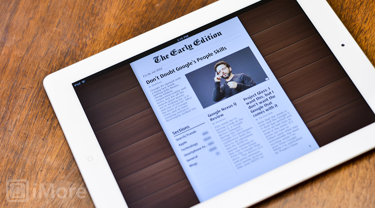 Reeder vs. Early Edition 2 vs. NewsRack: additional features