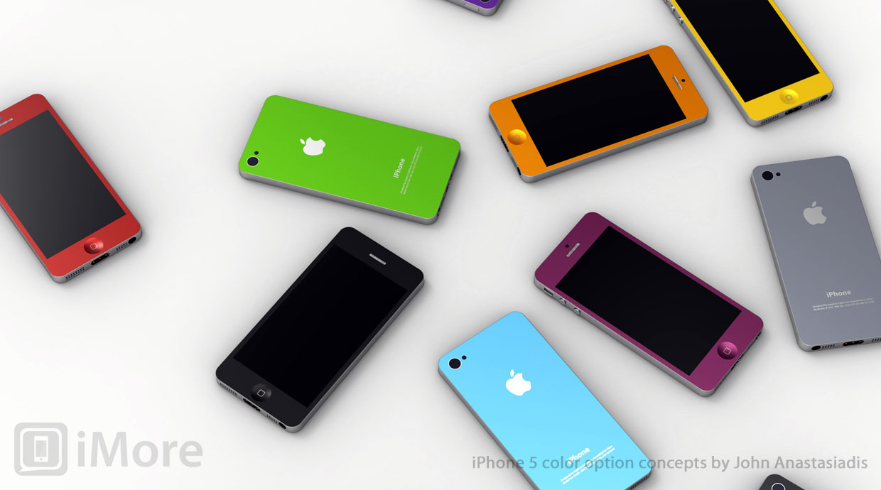 Production on iPhone 5s rumored to be starting this quarter for summer release, less expensive iPhone along for the ride