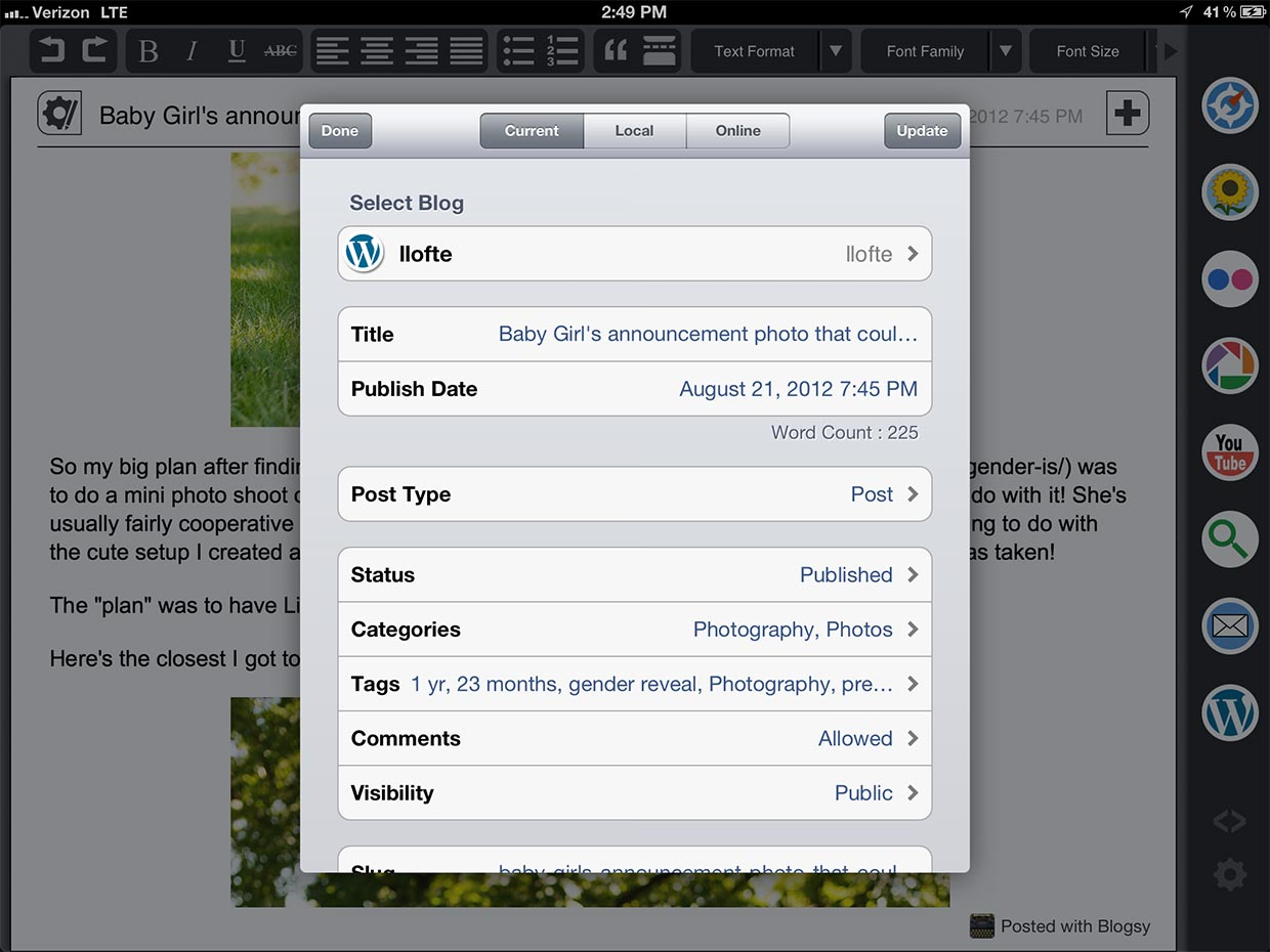 how to add title text in imovie on ipad