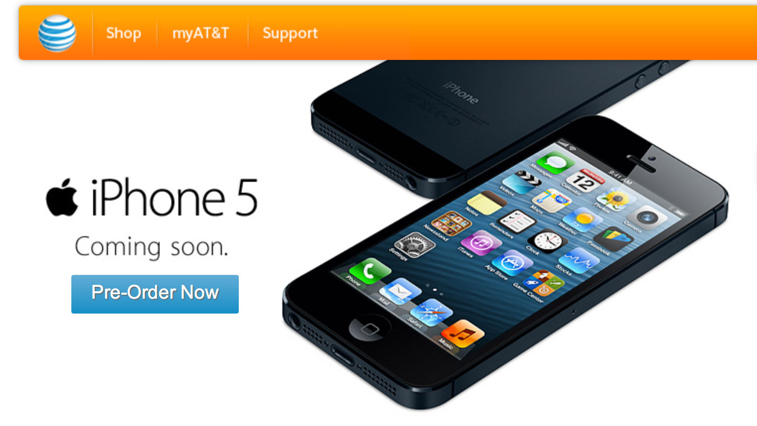 iphone 5 at t at amp t announces record pre orders for iphone 5 imore 10953