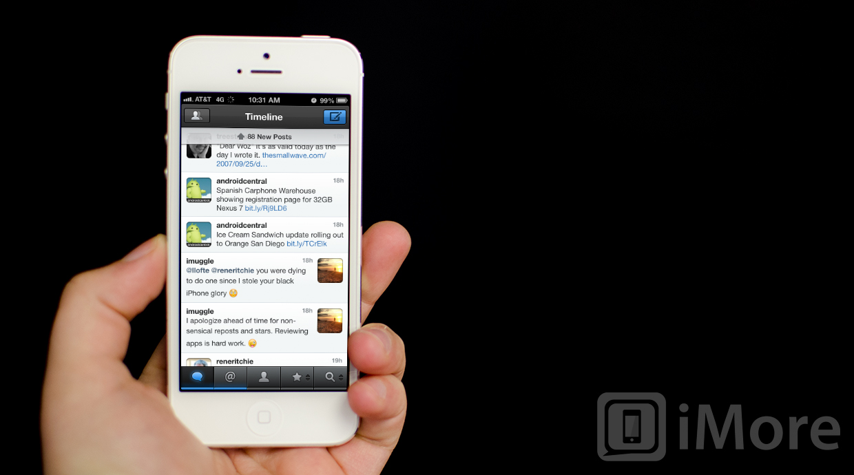 netbot for iphone user interface