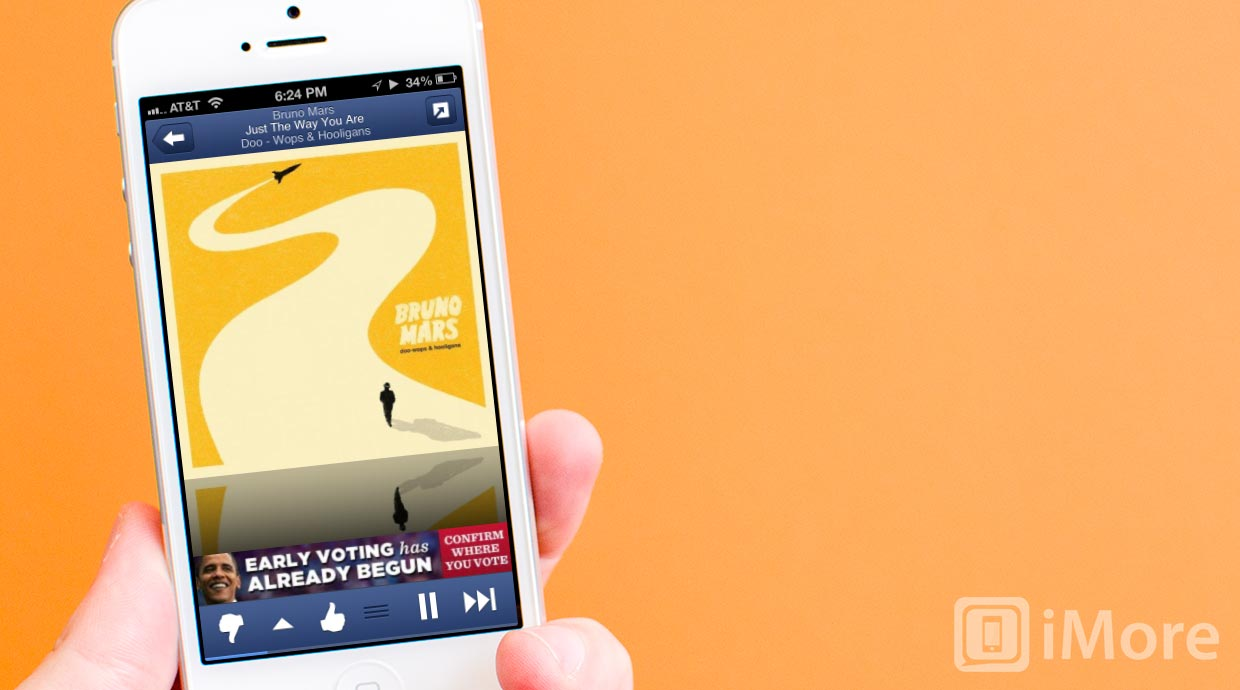 Pandora 4.0 for iPhone and iPad gets complete redesign and goes social