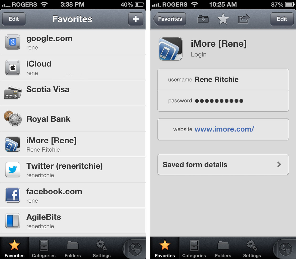First look: 1Password 4 for iOS | iMore
