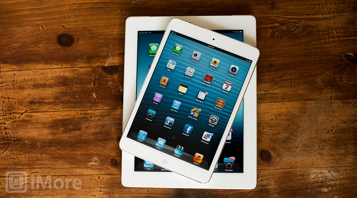 iPad mini not cannibalizing demand for larger iPad
