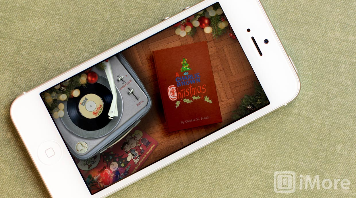 Celebrate the Holidays with A Charlie Brown Christmas for iPhone and iPad