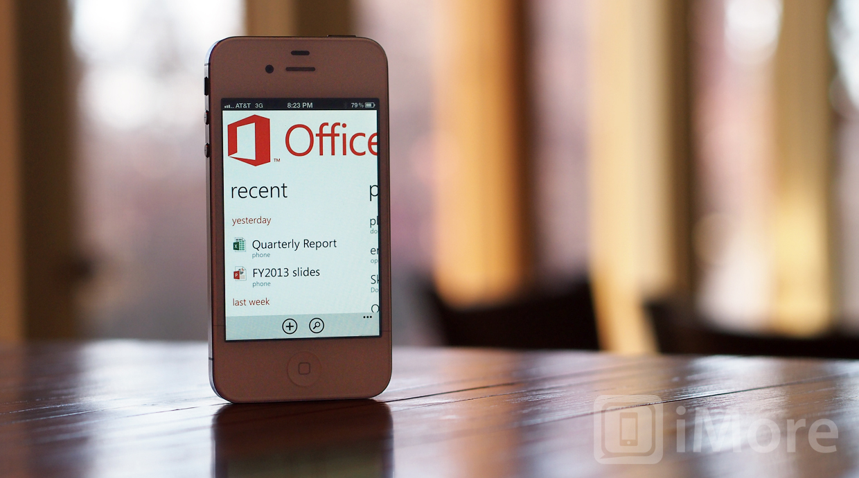 Office for iPhone mockup