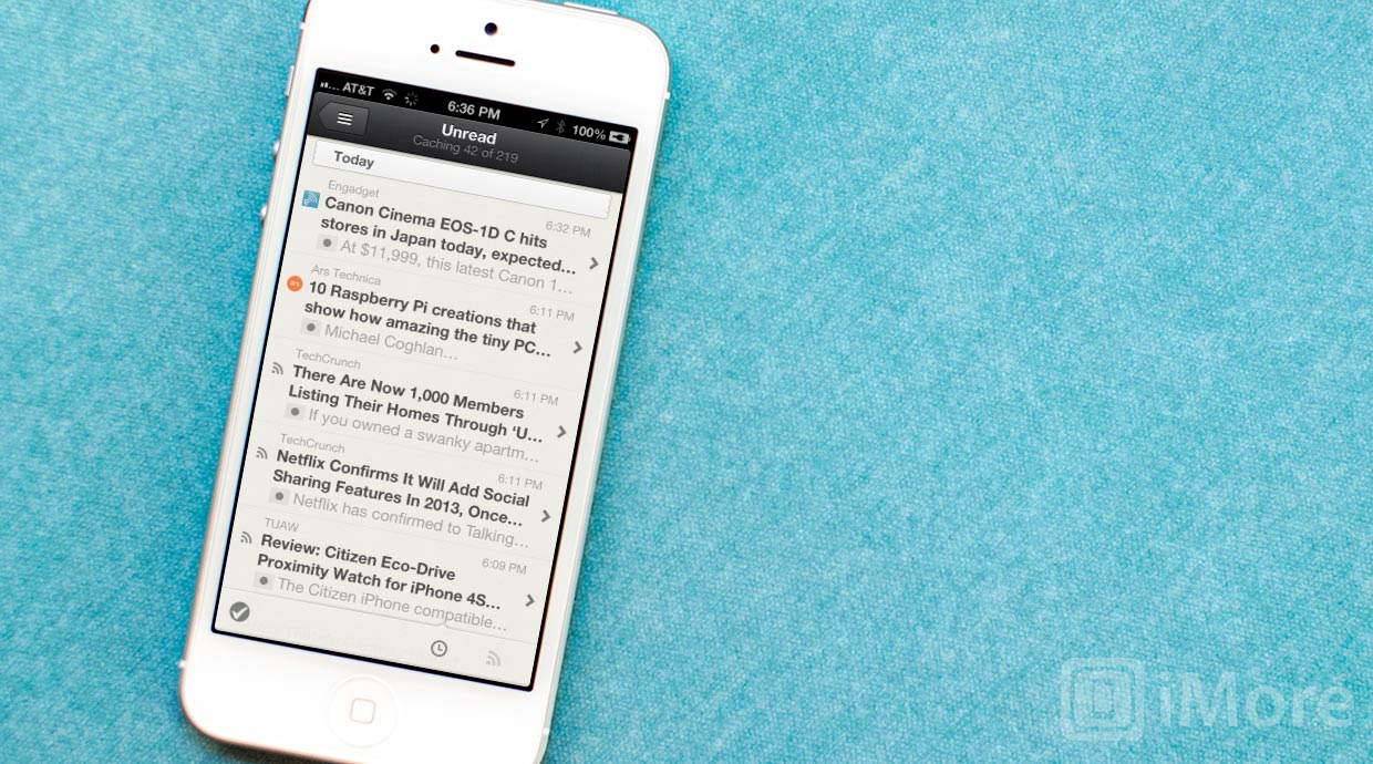 Reeder for iPhone now free, will soon update to support Google Reader alternatives