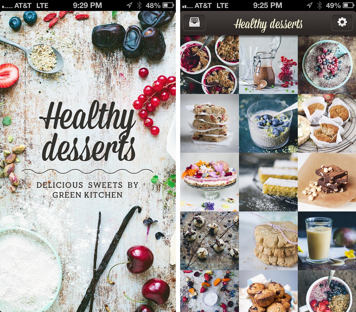 Healthy Desserts By Green Kitchen For IPhone And IPad Review