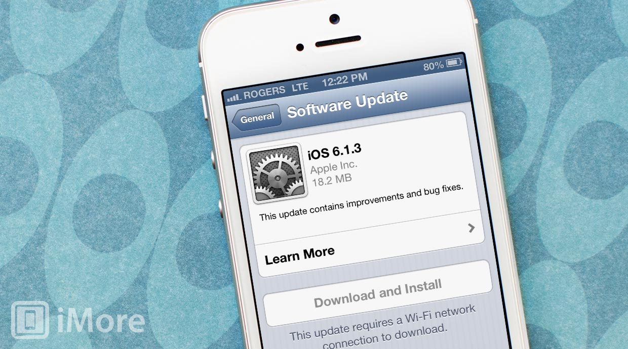Apple releases iOS 6.1.3