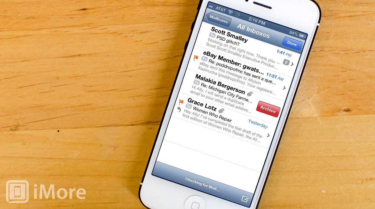 How to enable message archiving for iCloud mail on iPhone and iPad