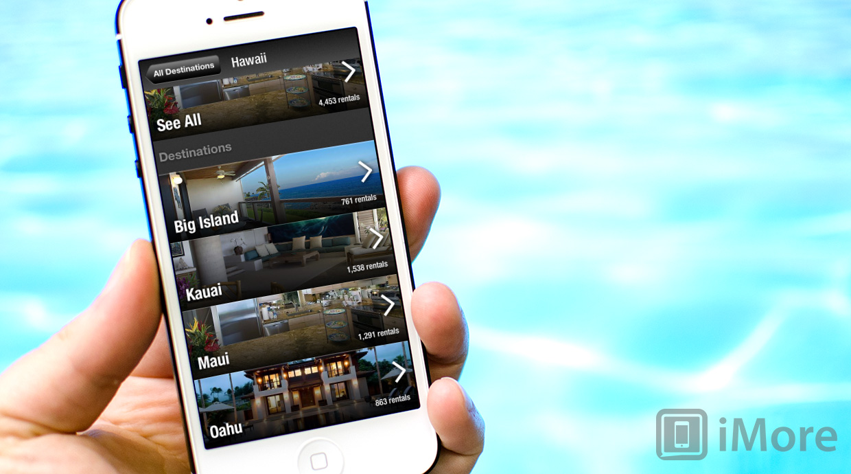 Dwellable for iPhone and iPad review: find rentals at all the top vacation spots in the US