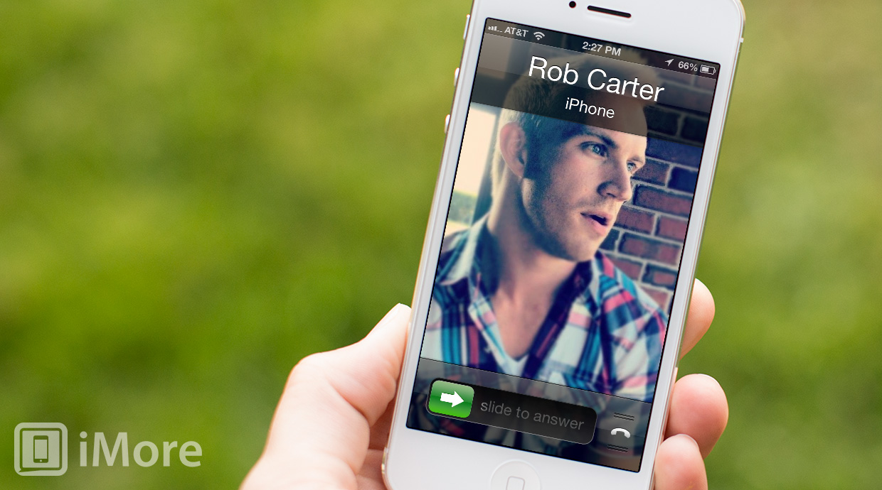 How to set a default call answer mode on iPhone