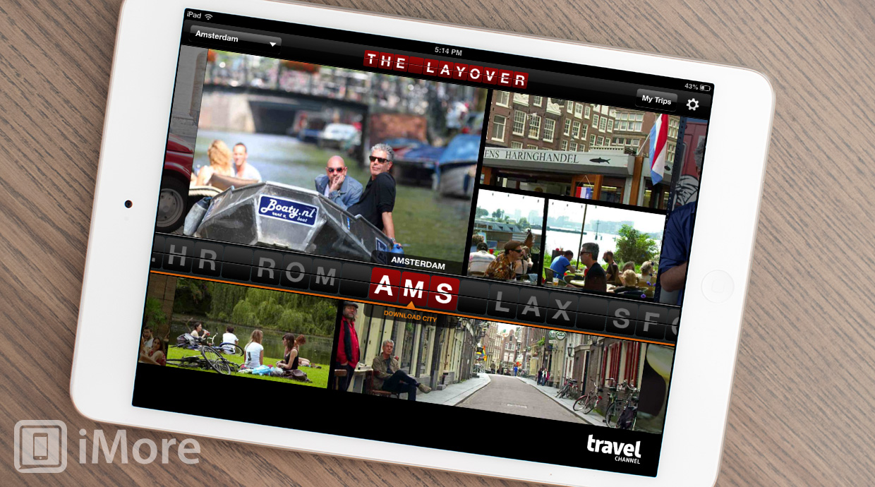 Travel Channel Layover Guide for iPhone and iPad: find pubs, attractions, and five star dining all over the world