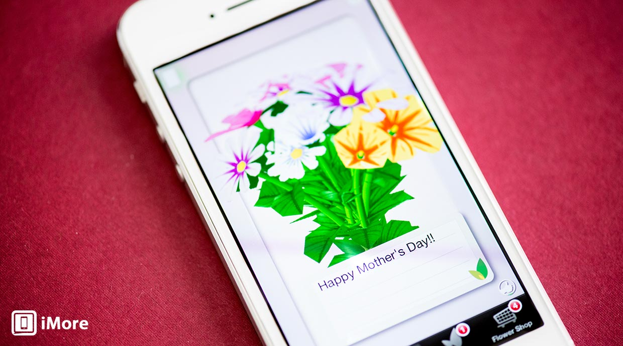 The Other Common Mothers Day Gift Is Flowers Flower Garden And Flowerly Are Two Great IPhone IPad Apps That Let You Send Virtual To Mom Via