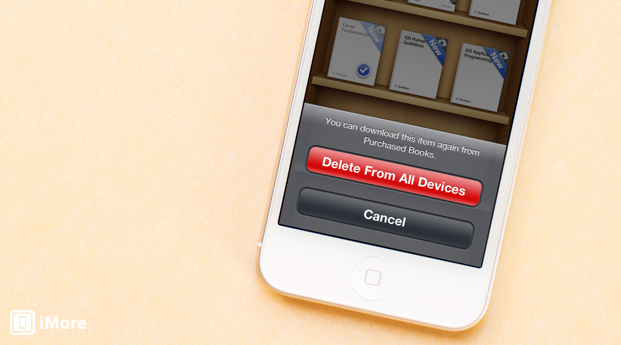 How to delete books and PDFs from iBooks for iPhone and iPad