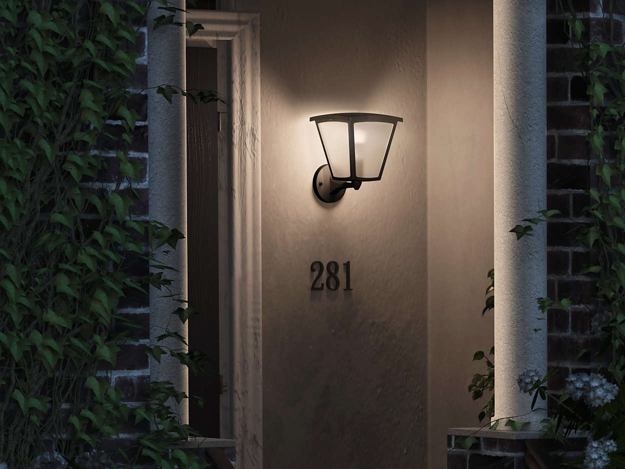 Philips Hue Outdoor Lampen.Can You Use A Philips Hue Color Bulb With The Inara Outdoor Wall