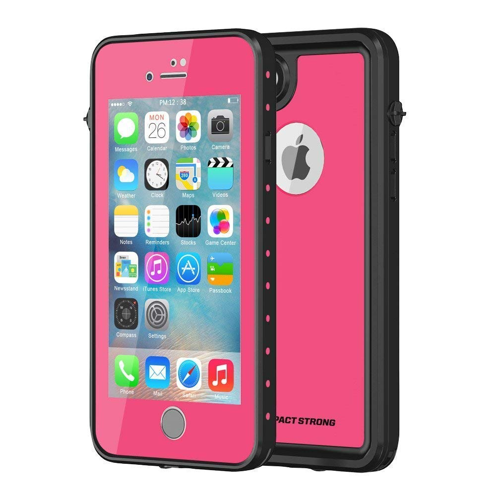ImpactStrong Slim Waterproof Cover With Built-In Screen Protector