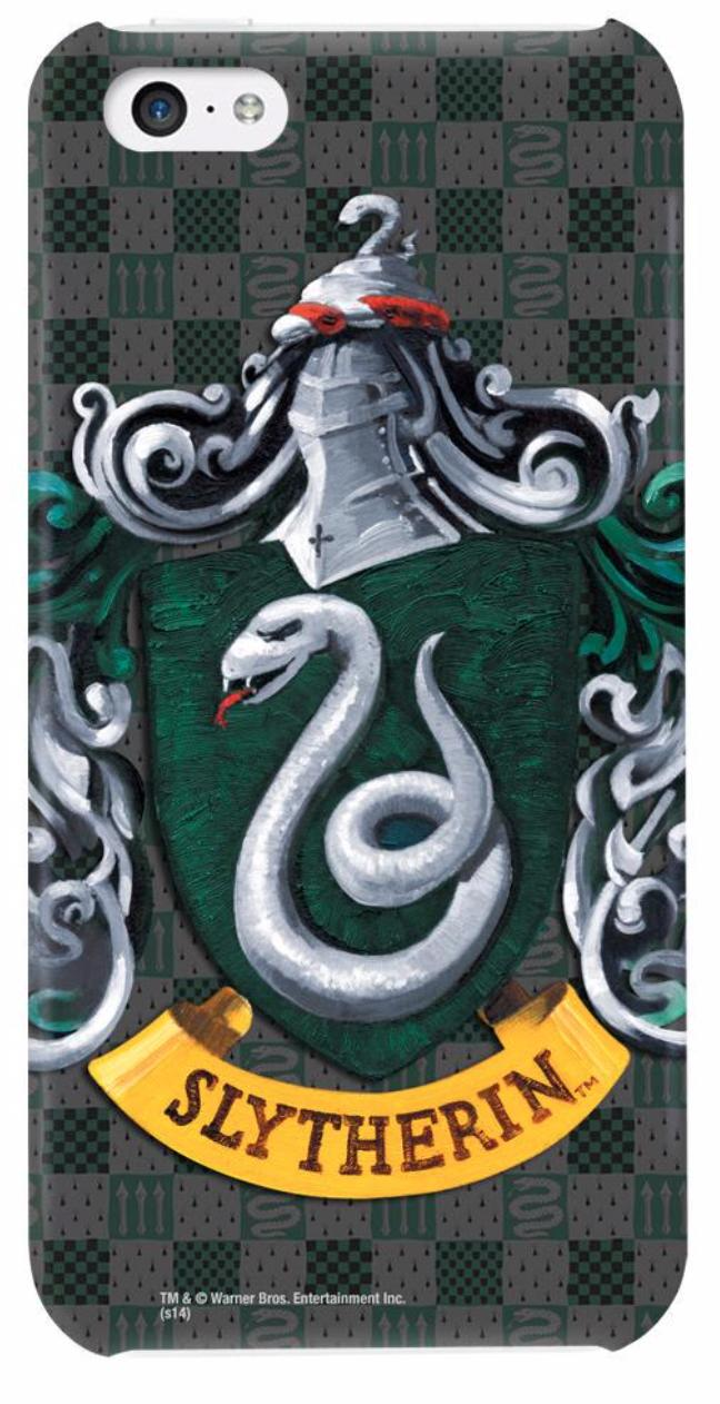Official WBShop Slytherin Harry Potter iPhone case