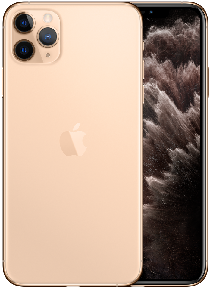 iPhone 11 Pro Max in gold