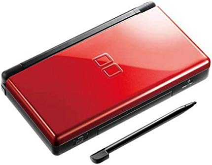 Nintendo Ds Lite Red Black