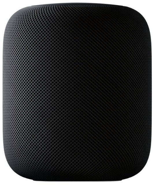 HomePod in space gray