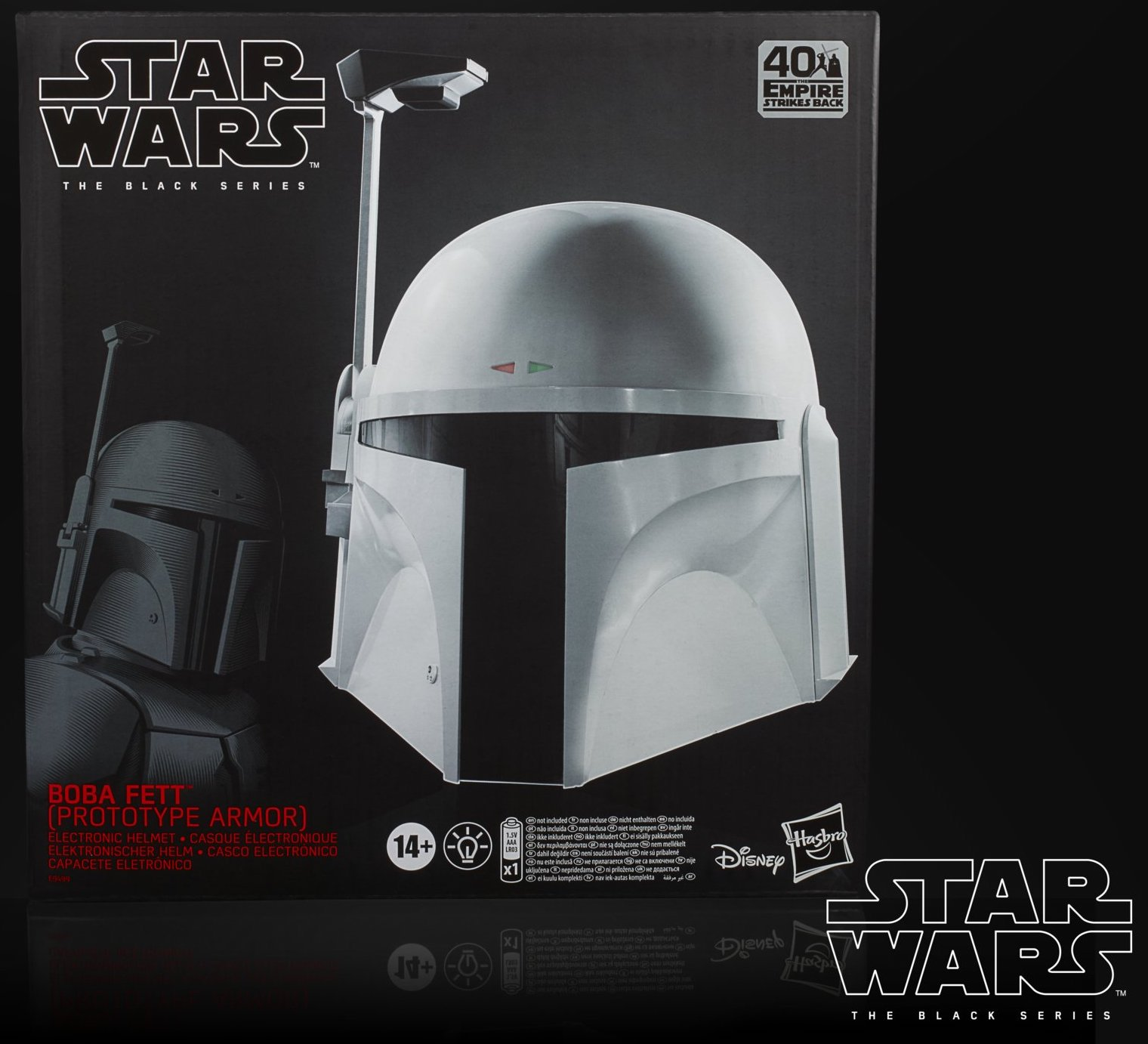 Star Wars The Black Series Boba Fett (Prototype Armor) Electronic Helmet