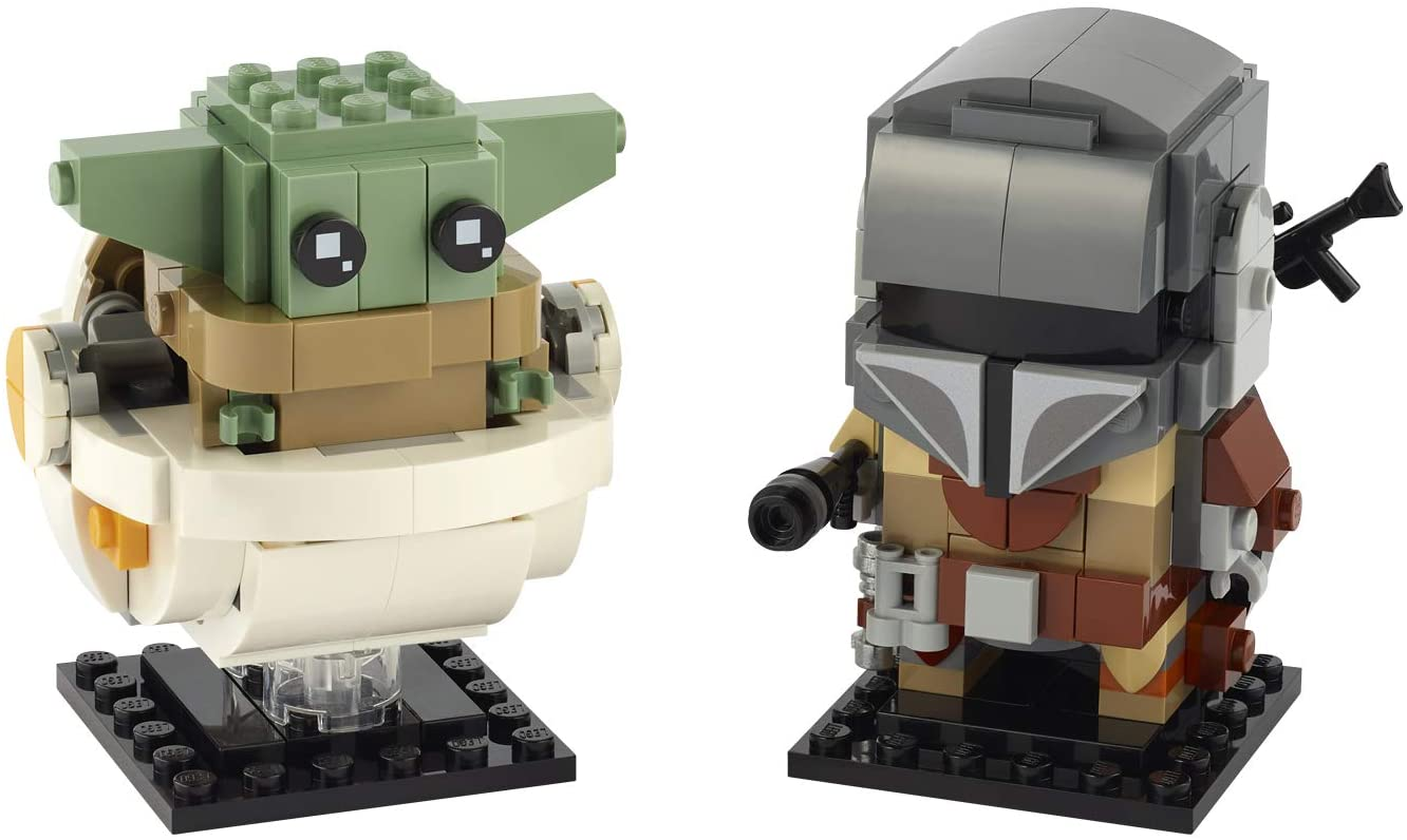 LEGO BrickHeadz Star Wars The Mandalorian & The Child