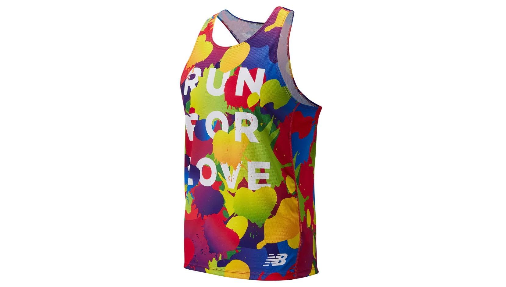 New Balance Nb Pride Singlet Mens