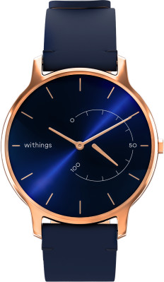 Withings Move Timeless Blue Rose Gold