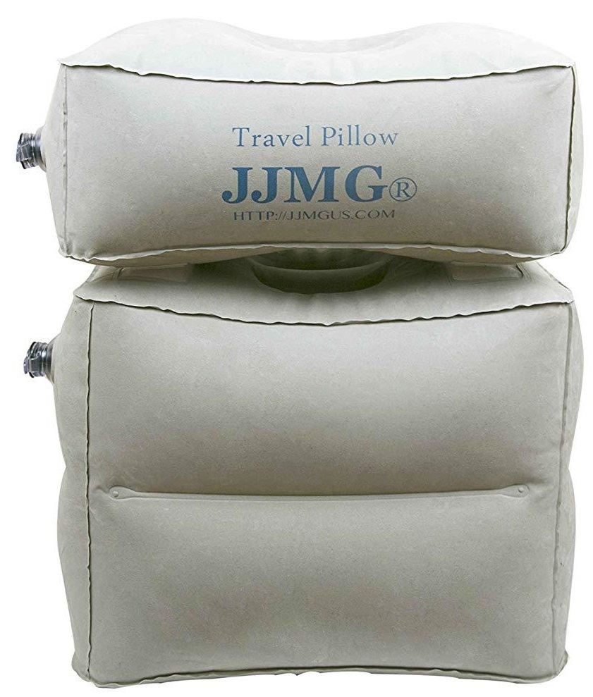 Jjmg Travel Inflatable Leg And Footrest Pillow