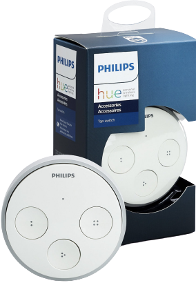 Philips Hue Tap Switch and packaging
