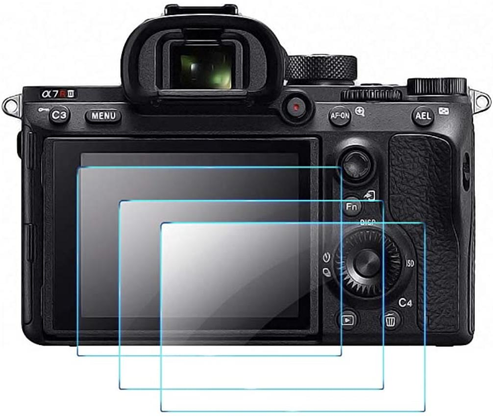 Qibox Sony Camera Screen Protector Render Cropped
