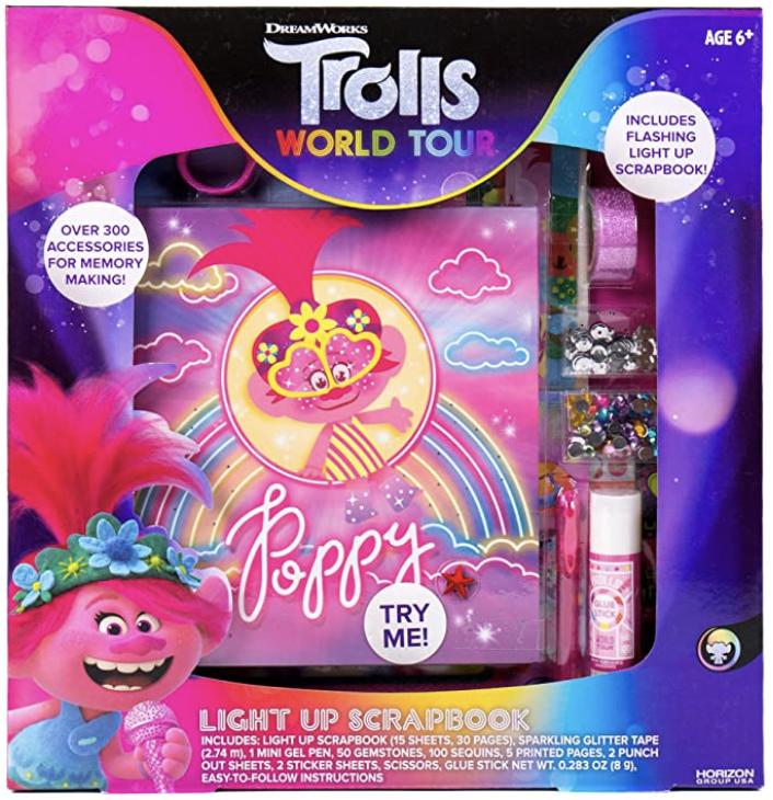 Trolls World Tour Light Up Scrapbook Render Cropped