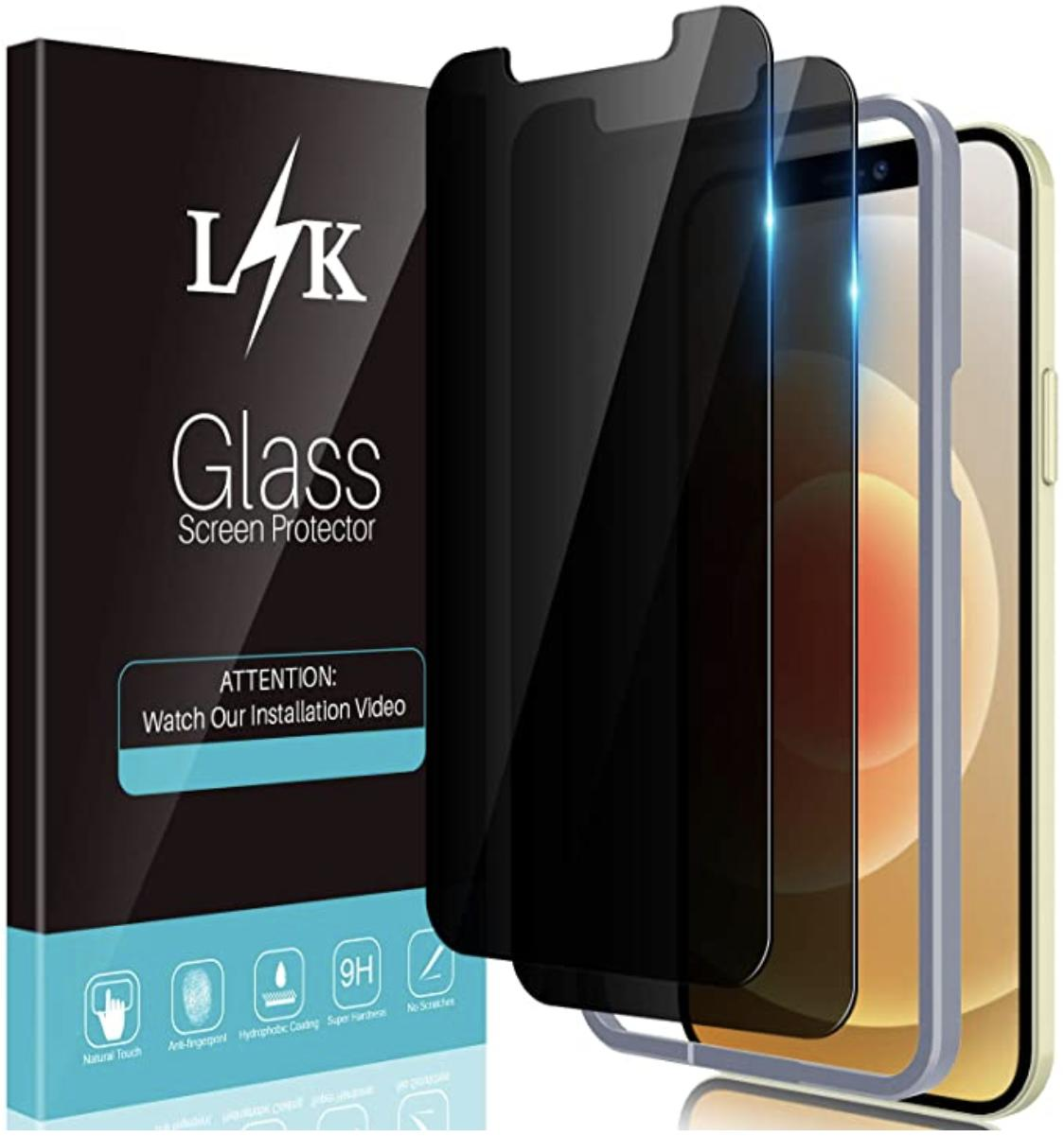 Lk Privacy Screen Protector Iphone 12 Pro Render Cropped