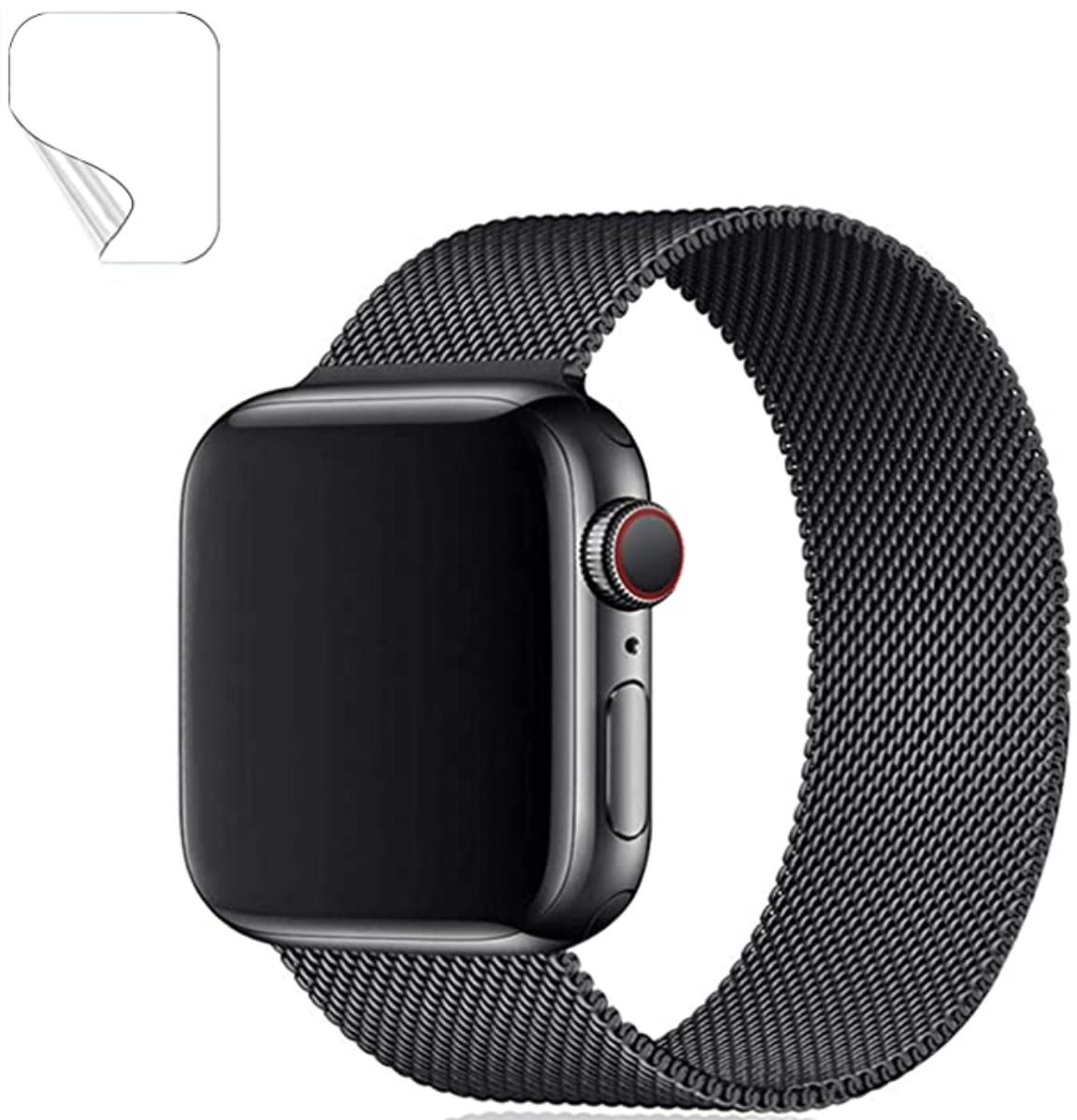 Maoyea Apple Watch Band Milanese Render Cropped