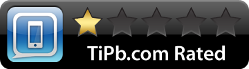 TiPb iPhone 1-star rated
