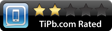 TiPb iPhone 2-star rated