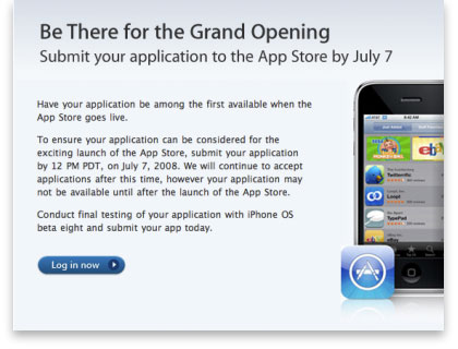 App Store Deadline July 7