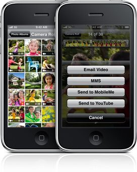 iPhone 3G S - Video Recording
