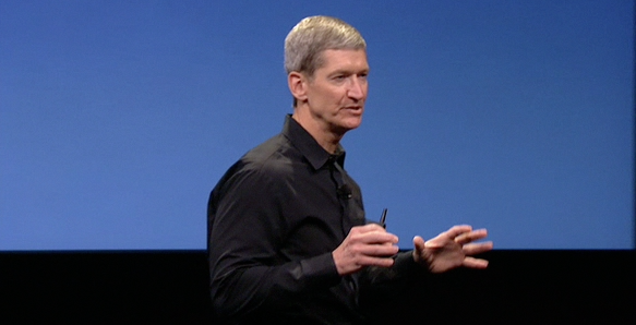 Apple will live stream Tim Cook's presentation at Goldman Sachs conference tomorrow
