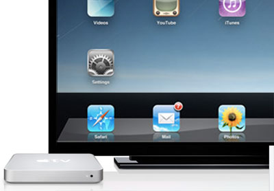 Apple TV should run iPhone OS concept