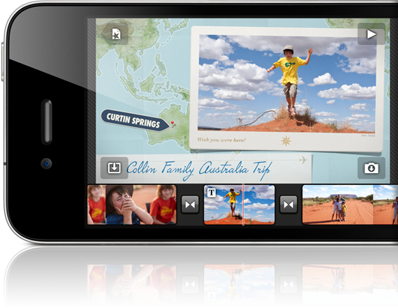 how to join images on imovie on iphone