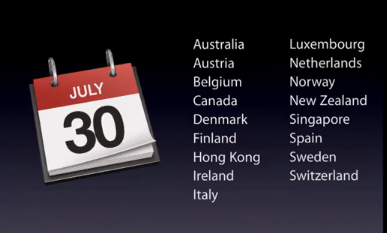 IPhone 4 on July 30 in Spain and The Apple Conference, The Best of The Week