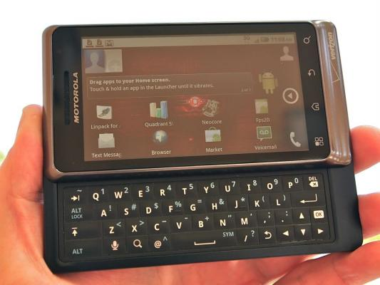 Verizon Motorola Droid 2 Review