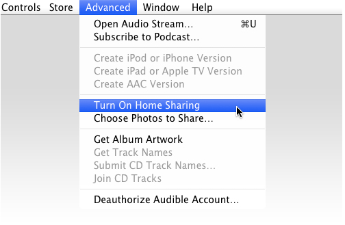 How To Use Itunes Home Sharing With Apple Tv Imore