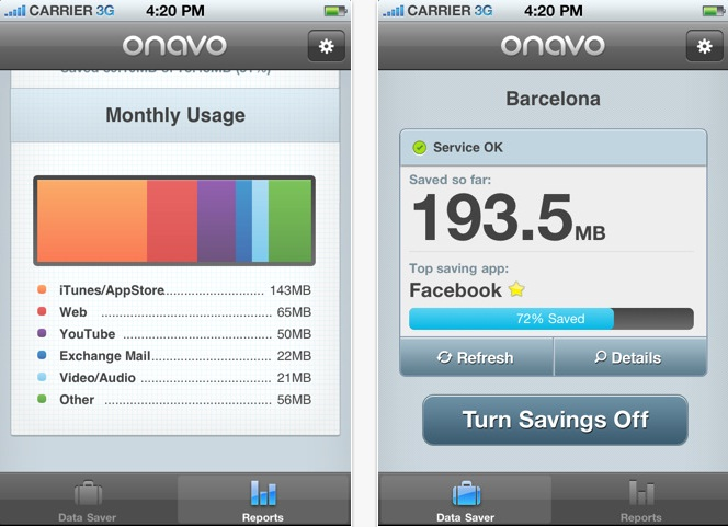 how to find data usage on iphone 5