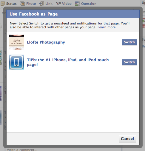 how to add admin on facebook page iphone