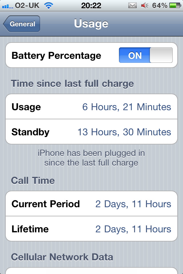 Daily tip how to turn on the battery percentage meter imore